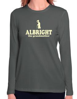 Albright The Grandmother Long Sleeve T-Shirt-Womens
