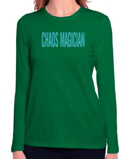 Chaos Magician - Simple Long Sleeve T-Shirt-Womens