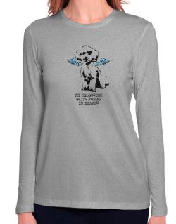My Bolognese Waits For Me In Heaven Long Sleeve T-Shirt-Womens
