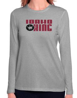 Idaho King Long Sleeve T-Shirt-Womens