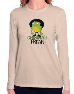 Chisinau Freak Long Sleeve T-Shirt-Womens