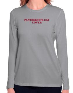 Pantherette Lover Long Sleeve T-Shirt-Womens