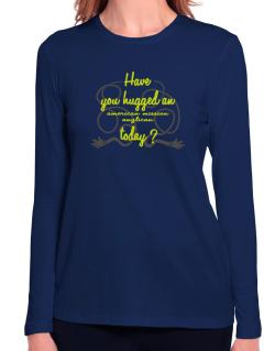 Have You Hugged An American Mission Anglican Today? Long Sleeve T-Shirt-Womens
