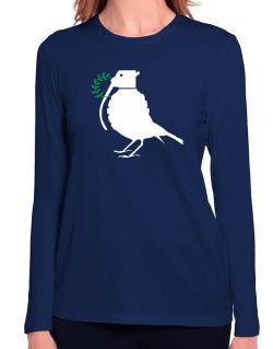 Dove grenade  Long Sleeve T-Shirt-Womens