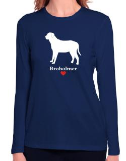 Broholmer love Long Sleeve T-Shirt-Womens