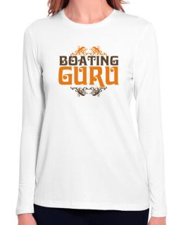 Boating Guru Long Sleeve T-Shirt-Womens