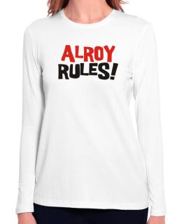 Alroy Rules! Long Sleeve T-Shirt-Womens