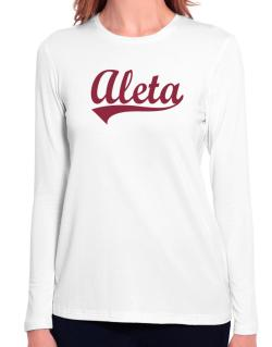 Aleta Long Sleeve T-Shirt-Womens