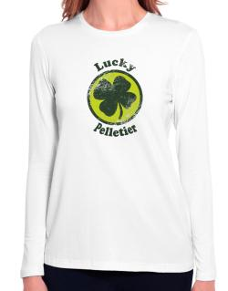 Lucky Pelletier Long Sleeve T-Shirt-Womens