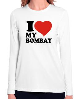 I Love My Bombay Long Sleeve T-Shirt-Womens