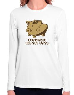 Economic Report 2009 Long Sleeve T-Shirt-Womens