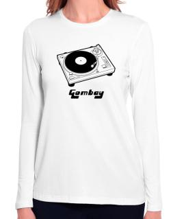Retro Gombay - Music Long Sleeve T-Shirt-Womens