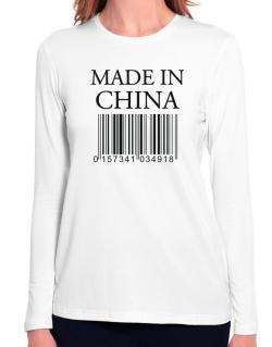 Made in China Long Sleeve T-Shirt-Womens