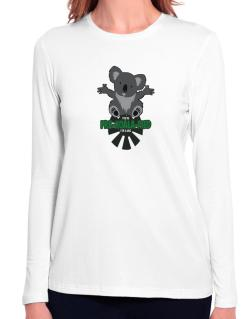 Koalafied for a hug Long Sleeve T-Shirt-Womens