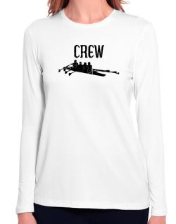 Crew rowing Long Sleeve T-Shirt-Womens