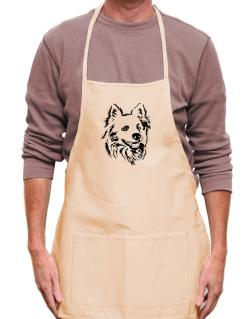 """ Australian Cattle Dog FACE SPECIAL GRAPHIC "" Apron"