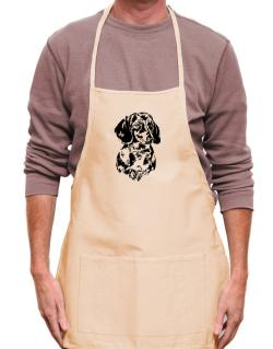 Dachshund Face Special Graphic Apron