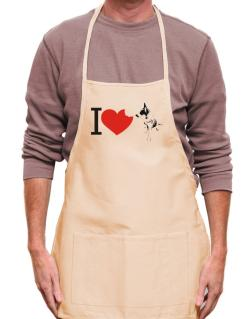 I love Australian Cattle Dogs Apron