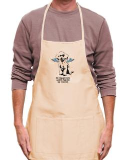 My Bolognese Waits For Me In Heaven Apron