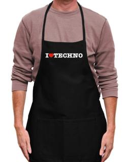 Mandil de I Love Techno