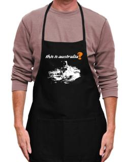 This Is Australia? - Astronaut Apron