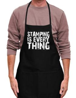 Stamping Is Everything Apron