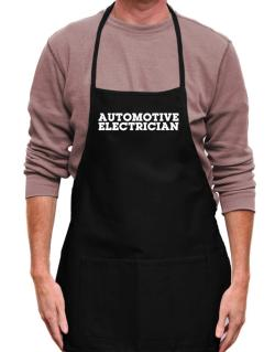 Automotive Electrician Apron