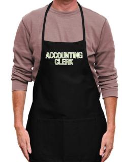 Accounting Clerk Apron