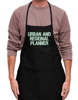 Urban And Regional Planner Apron