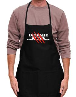 Beware Of The North American Bison Apron