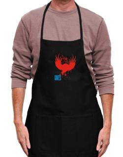 Adit Never Gives Up Apron