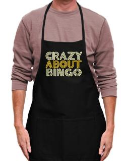 Crazy About Bingo Apron