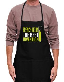 French Horn The Best Invention Apron