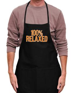 100% Relaxed Apron