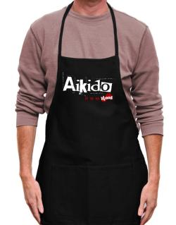 Aikido Is In My Blood Apron