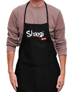 Shogi Is In My Blood Apron