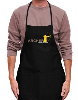 Archery - Only For The Brave Apron
