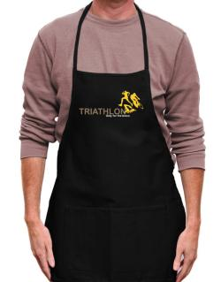 Triathlon - Only For The Brave Apron
