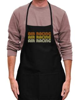 Air Racing Retro Color Apron