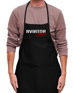 Aviator With Attitude Apron