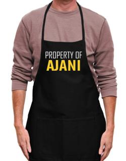 Property Of Ajani Apron