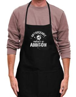 Untouchable : Property Of Addison Apron