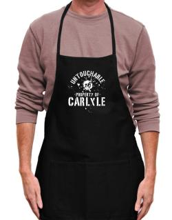 Untouchable : Property Of Carlyle Apron