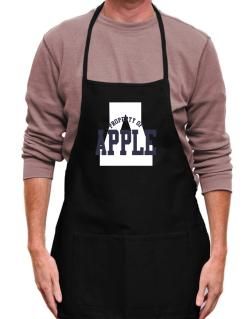 Property Of Apple Apron
