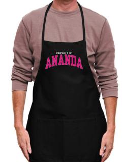 Property Of Ananda Apron