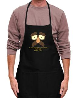 Cleverly Disguised Apron