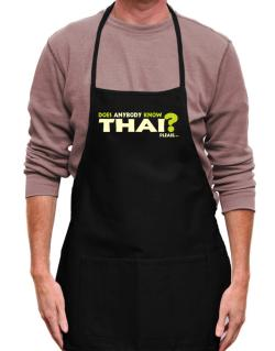 Does Anybody Know Thai? Please... Apron