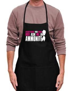 Anything You Want, But Ask Me In Ammonite Apron