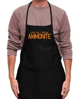 Love Me, I Speak Ammonite Apron