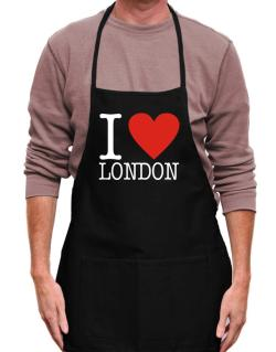 I Love London Classic Apron